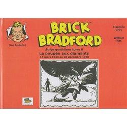LUC BRADEFER - BRICK BRADFORD (COFFRE À BD) - BRICK BRADFORD - STRIPS QUOTIDIENS TOME 8