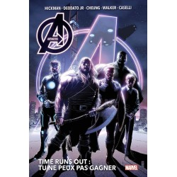 AVENGERS - TIME RUNS OUT...