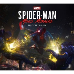 SPIDER-MAN MILES MORALES - TOUT L'ART DU JEU
