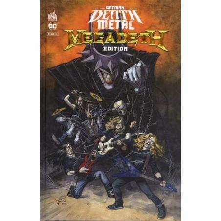 BATMAN DEATH METAL 1 MEGADETH EDITION , TOME 1 / EDITION SPÉCIALE, LIMITÉE (COUVERTURE MEGADETH)