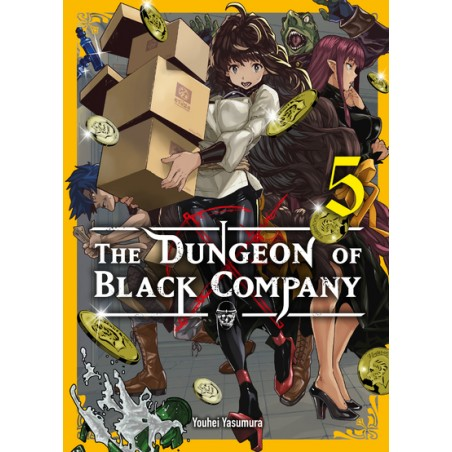THE DUNGEON OF BLACK COMPANY T05