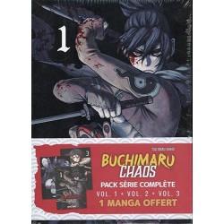 BUCHIMARU CHAOS - PACK VOL. 01 À 03