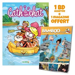 CATH ET SON CHAT - TOME 03 + BAMBOO MAG OFFERT
