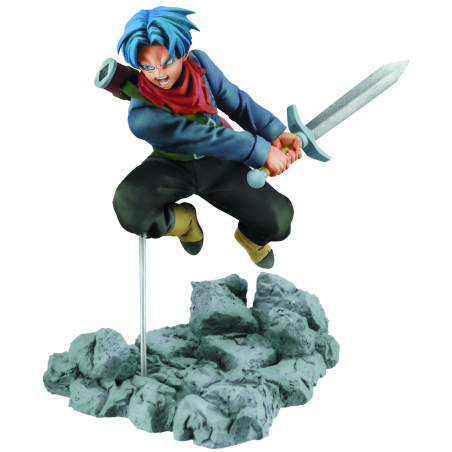 SOUL X SOUL DBZ SUPER Trunks 8cm