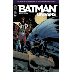 BATMAN UNIVERS - BATMAN ET MANHUNTER
