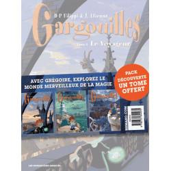Gargouilles Pack T1 à T3 1 tome offert