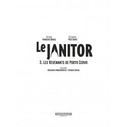 LE JANITOR - TOME 3 - LES REVENANTS DE PORTO CERVO (RÉÉDITION)