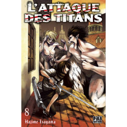 ATTAQUE DES TITANS (L') - TOME 8