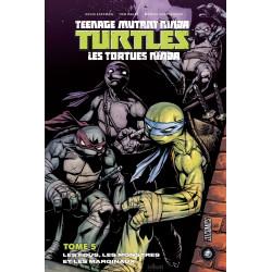 TEENAGE MUTANT NINJA TURTLES - LES TORTUES NINJA (HICOMICS) - 5 - LES FOUS, LES MONSTRES ET LES MARGINAUX