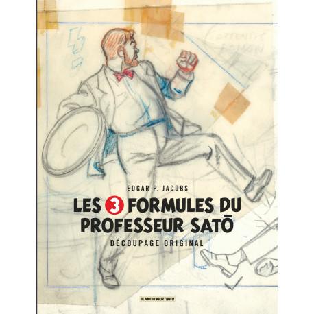 BLAKE ET MORTIMER (DIVERS) - 12 - LES 3 FORMULES DU PROFESSEUR SATÔ - DÉCOUPAGE ORIGINAL