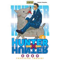 HUNTER X HUNTER - TOME 5 - JIN FREECSS