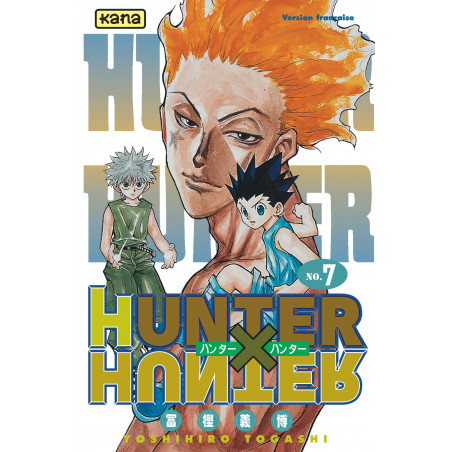 HUNTER X HUNTER - TOME 7 - CA NE FAIT QUE COMMENCER
