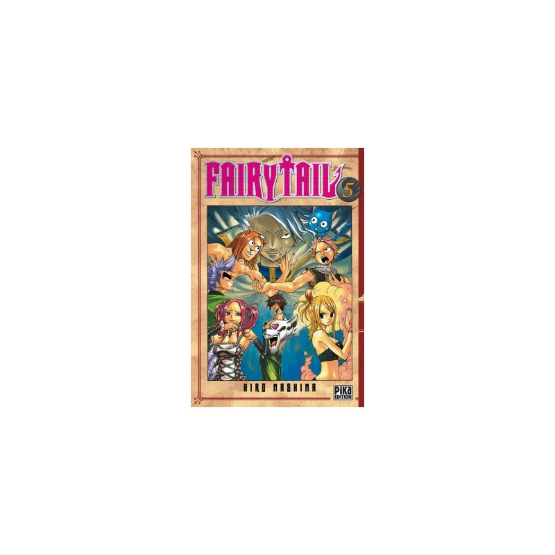 FAIRY TAIL - TOME 5