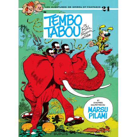 SPIROU ET FANTASIO - 24 - TEMBO TABOU