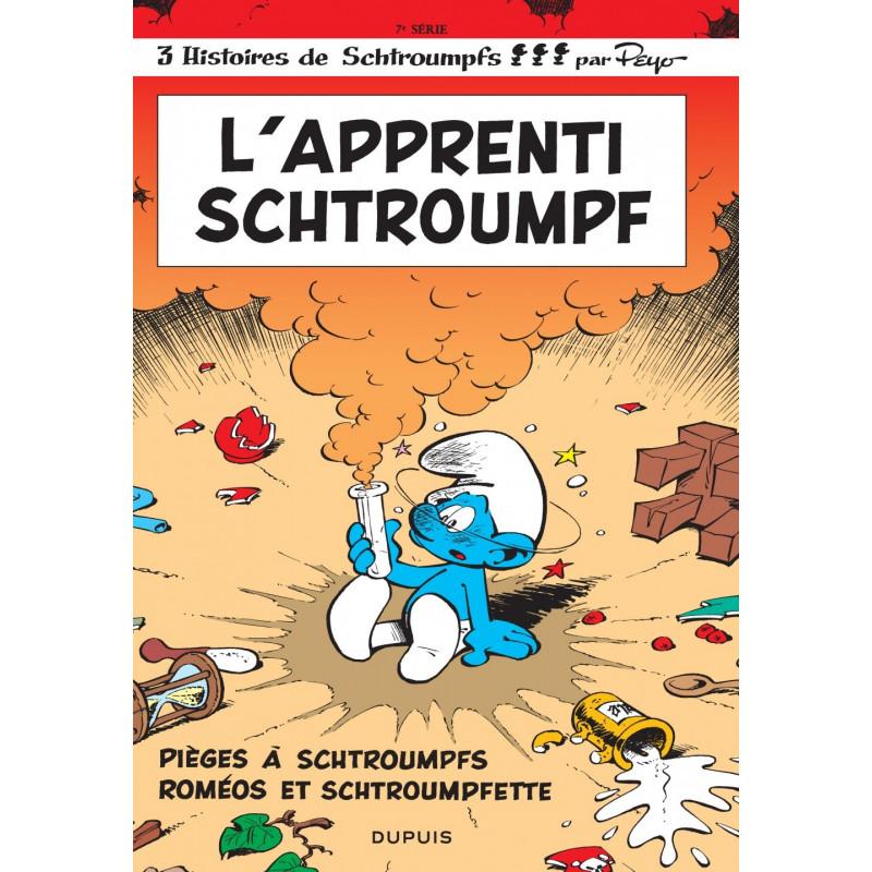 LES SCHTROUMPFS - TOME 7 - L'APPRENTI SCHTROUMPF