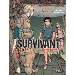 SURVIVANT - L'HISTOIRE DU JEUNE S - TOME 4