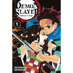 DEMON SLAYER - KIMETSU NO YAIBA - TOME 1