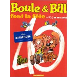 BOULE ET BILL -02- (ÉDITION ACTUELLE) - BOULE & BILL FONT LA FÊTE