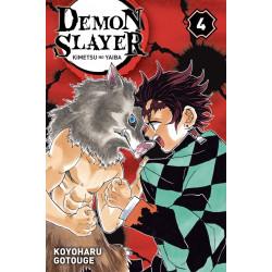 DEMON SLAYER - KIMETSU NO YAIBA - TOME 4