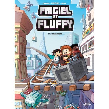 FRIGIEL ET FLUFFY T07 - LA POUDRE ROUGE - MINECRAFT