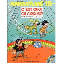 MARSUPILAMI - 15 - C'EST QUOI CE CIRQUE !?