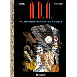 A.D.A. - ANTIQUE DETECTIVE AGENCY - 1 - ANTIQUE DETECTIVE AGENCY