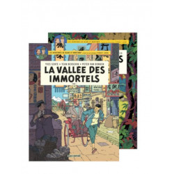 BLAKE & MORTIMER-LA VALLÉE DES IMMORTELS-FOURREAU 2 TOMES
