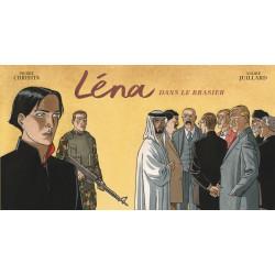 LÉNA - LÉNA DANS LE BRASIER (STRIPS)