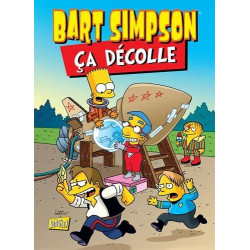 BART SIMPSON (JUNGLE !) - 11 - CA DÉCOLLE