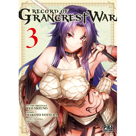 RECORD OF GRANCREST WAR - TOME 3