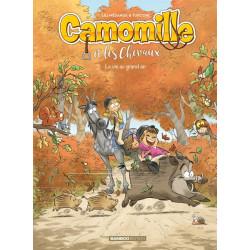 CAMOMILLE ET LES CHEVAUX - TOME 08 - LA VIE AU GRAND AIR